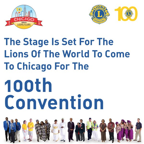 100th #LionsClubs International Convention is here!! Are you ready fellow #Lions?? #LCI #LionsClubs #Lions100 #ProudLions #WeServe<br>http://pic.twitter.com/IchrU3DmYf
