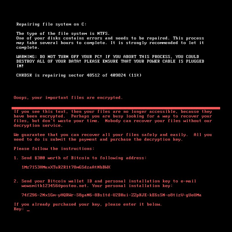 The #Petya #ransomware is back using the #EternalBlue exploit - and ou...