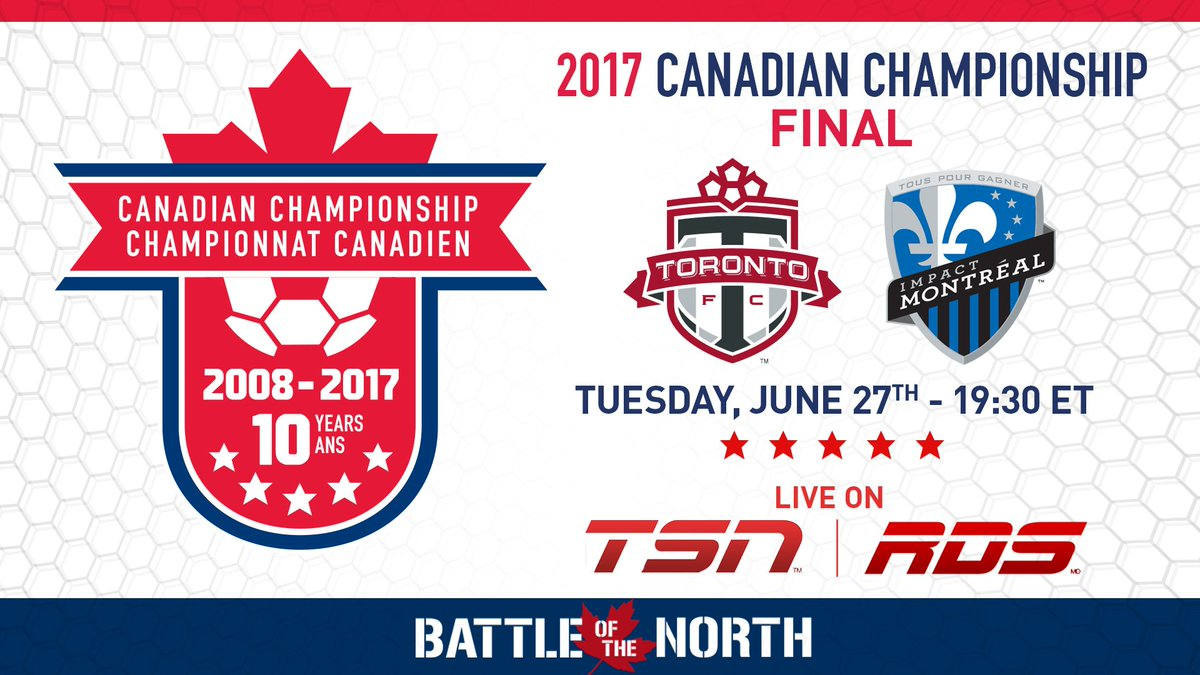 Tonight, the 2017 Canadian Champions will be crowned. Watch all the ac...