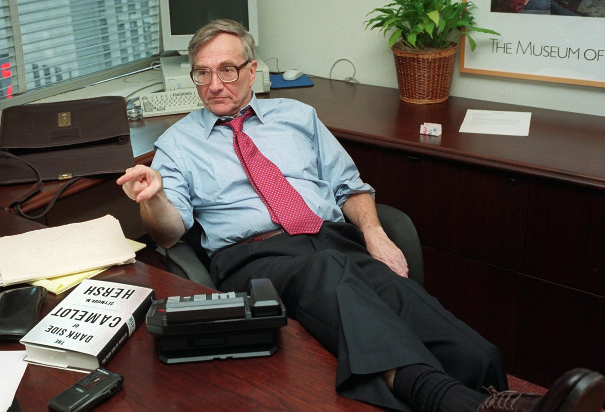 #American journalist Seymour #Hersh: the #US knew that #Assad didn&#39;t use #chemicalweapon on #Syria|ns before launching #Tomahawk missiles<br>http://pic.twitter.com/obCQ7NBSdn