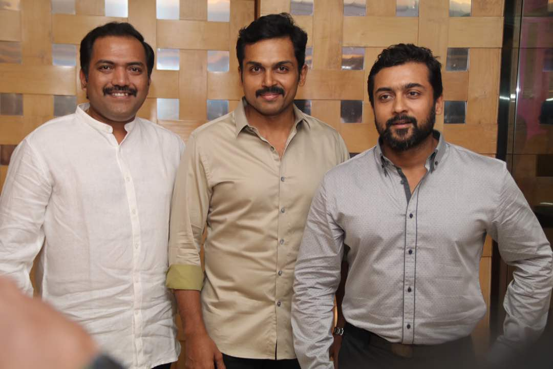 Was Together . Being Together. forever together. All 3 being the Power of Each 3 @Suriya_offl @Karthi_Offl @rajsekarpandian  #respect #love<br>http://pic.twitter.com/CRS8oGXYWb