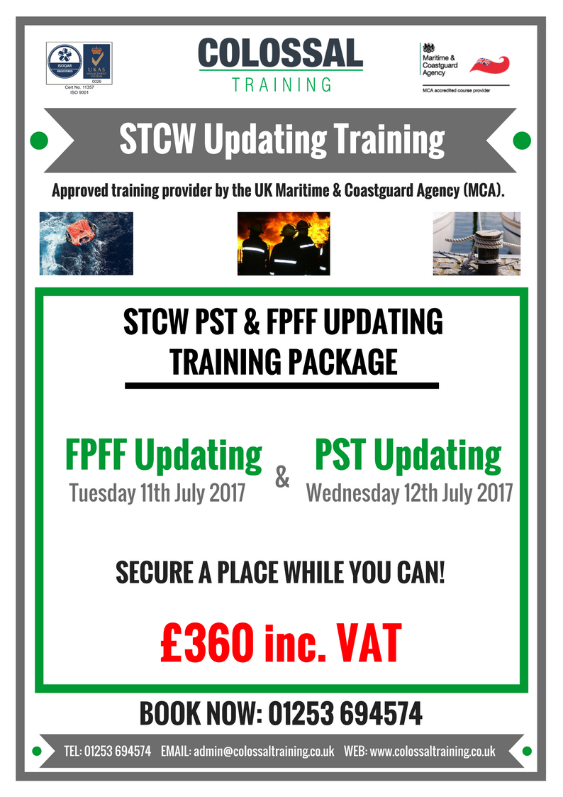 Colossal Training On Twitter Do You Need To Update Your Stcw