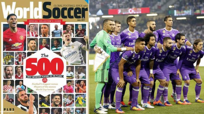 Cristiano Ronaldo is one of 19 players in World Soccer&#39;s Top 500 players in the world, more than any other team. #HalaMadrid <br>http://pic.twitter.com/QwgMIWj2Fl
