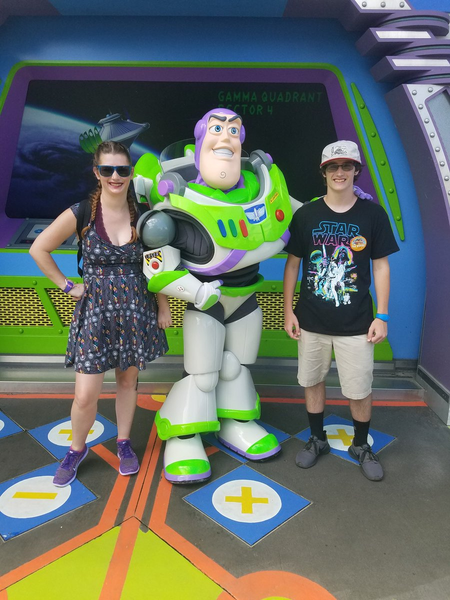 Had so much fun at Disney yesterday with this kid for his first visit #WaltDisneyWorld #magickingdom #goofy #buzzlightyear #firstvisit<br>http://pic.twitter.com/67b73GDKTy
