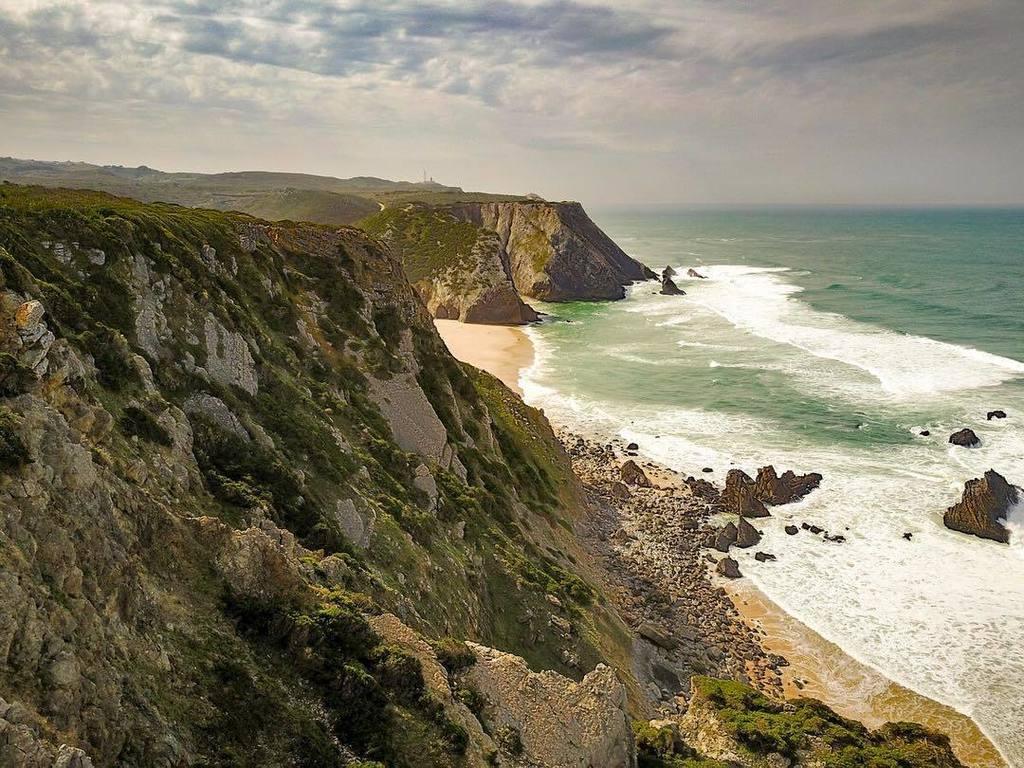 #DJIMavix photo of the #Atlantic #Coast in #Portugal near the westernm...