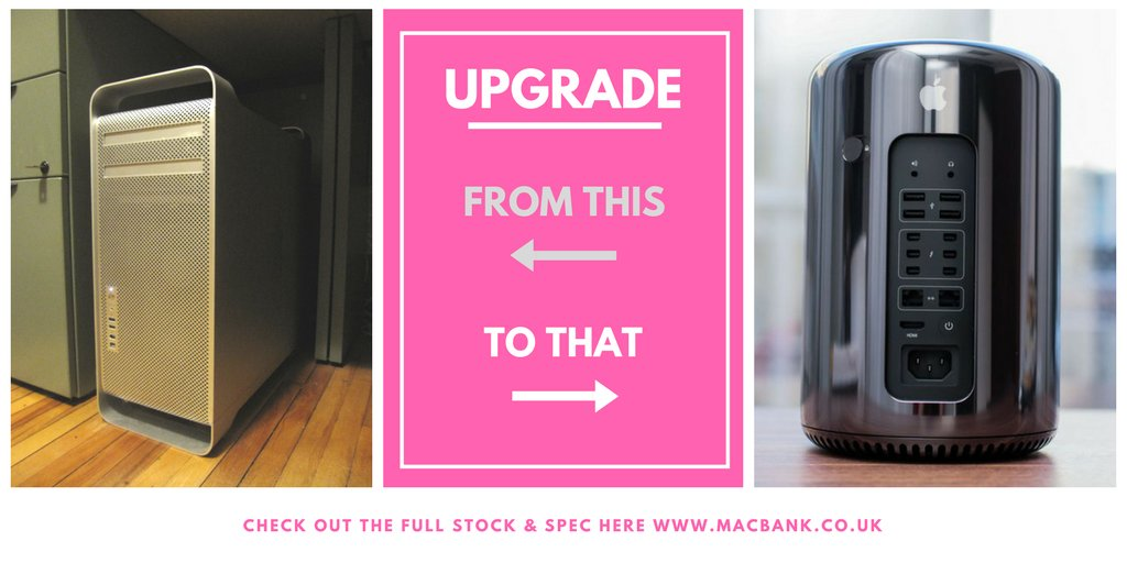 NOW IN STOCK - 2013 MAC PRO 6,1  Different specs available - 1YEAR APPLE WARRANTY INCLUDED! #design #music #Graphic   http:// bit.ly/2tRvNr0  &nbsp;  <br>http://pic.twitter.com/kbGhMGBdNS