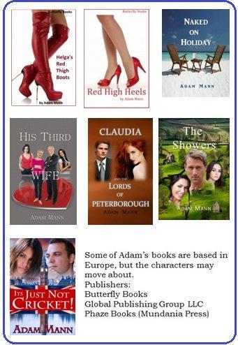 Check out Adam's books based in Europe...  https://www. amazon.com/author/adamman nauthor.com &nbsp; …   https://www. smashwords.com/profile/view/B utterflyBooks &nbsp; …   http://www. adammannauthor.com  &nbsp;    #Romance #Passion #Humor <br>http://pic.twitter.com/rhcglAv1LY