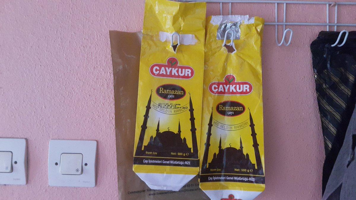 Çay paketinin üzerinde Camii resmi var d...