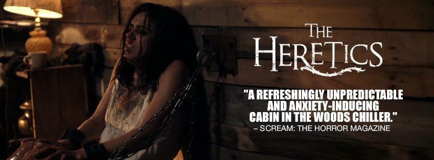 The Heretics trailer is here  https:// m.youtube.com/watch?v=7tzCgq IO9Iw&amp;feature=youtu.be &nbsp; …  #thehereticsarecoming #horror @ScreamHorrorMag<br>http://pic.twitter.com/YVVQ6UgBYF