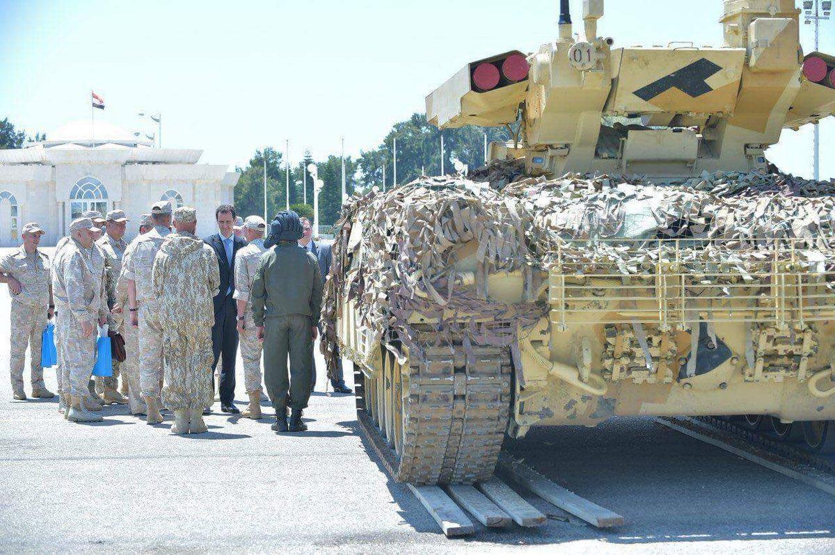 ظهور ال terminator في قاعدة حميميم في سوريا DDVXhCWXsAAoDwc