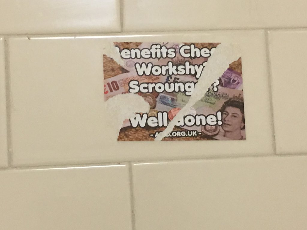Just seen this when going to the loo in #holyhead- I don&#39;t know where it came from but.... #randomthings <br>http://pic.twitter.com/iyY43ieBDo
