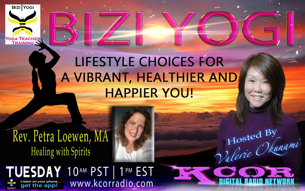 Coming up #BiziYogi at 10 AM PST/1 PM EST on #KCOR #TwistedTuesday #Radio @vokunami @hwithspirits  http:// kcorradio.com  &nbsp;  <br>http://pic.twitter.com/jFStGoj1nT