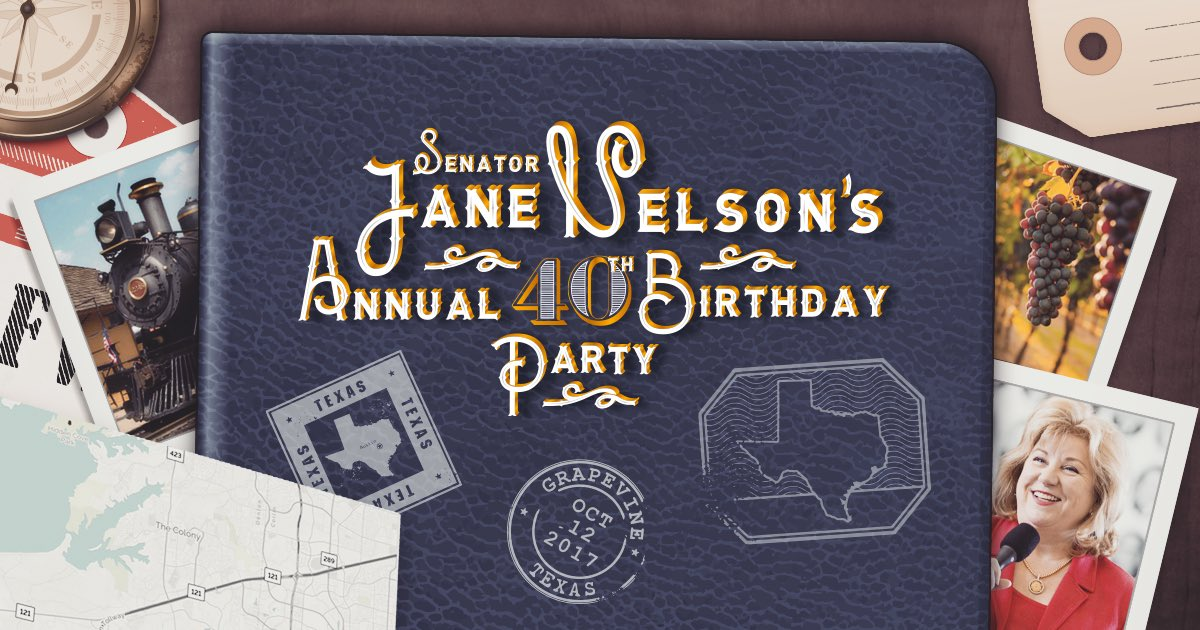 Senator Jane Nelson On Twitter Save The Date For My Annual