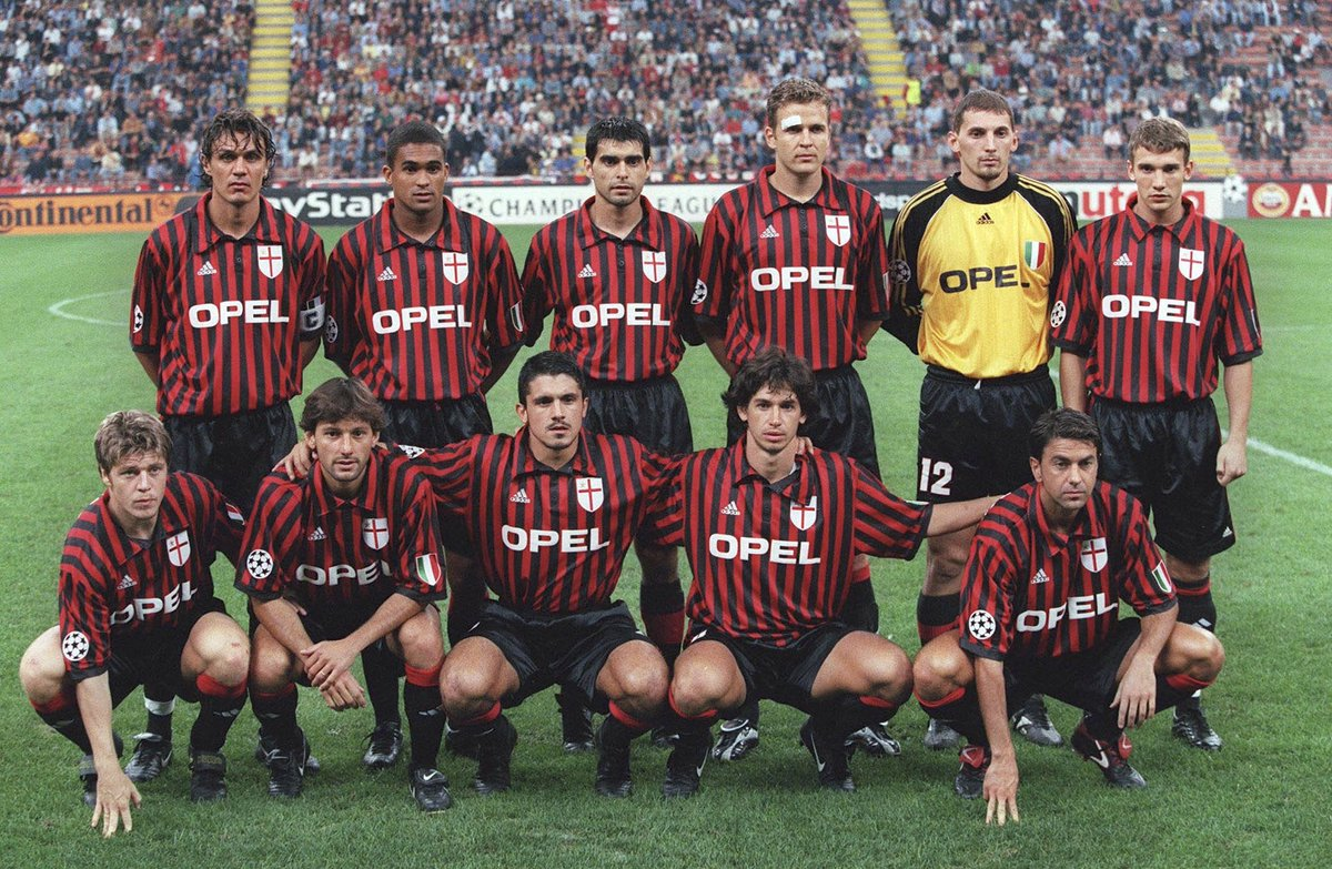 This Milan team. 😍  To celebrate Serginho's birthday, let's see how ma...
