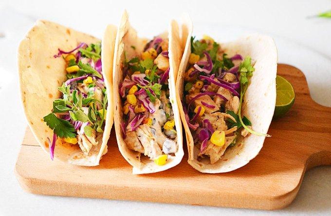 Slow Cooker Cheesy Tacos Recipe