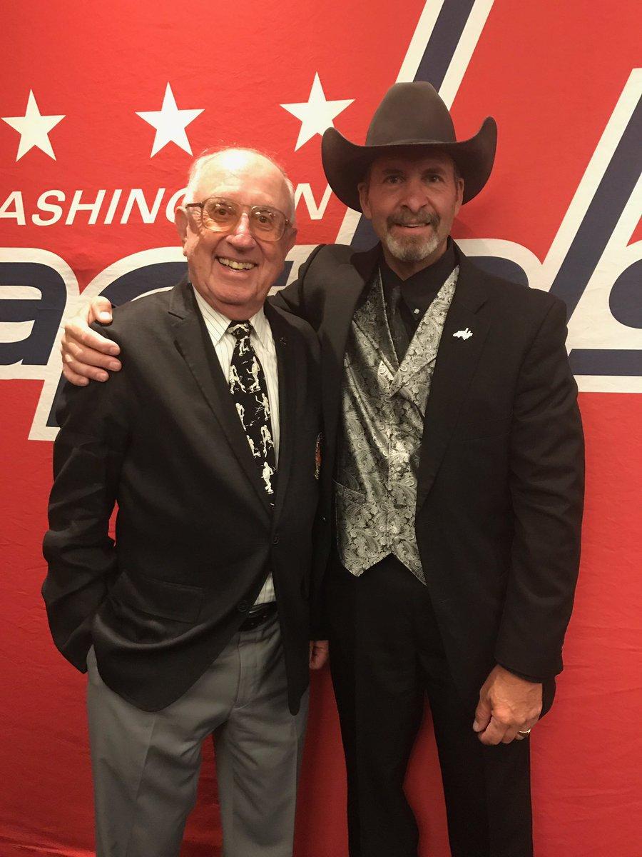 @cmalarchuk with Ron Weber @Capitals