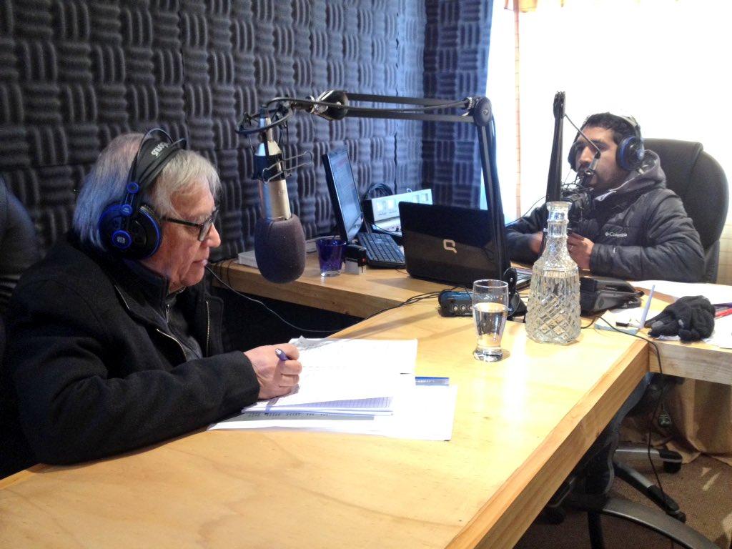 RT @Segegob11 Seremi da a conocer en radio @Ventisqueros de Chile Chico, los trabajos que se realizan ahora en mina Delia II #EmergenciaCerroBayo