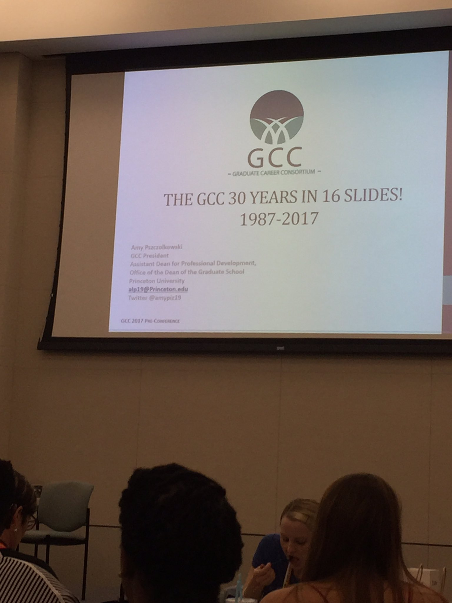 Excited to be here at the #2017GCC pre-conference to learn and share @NRMNET resources! https://t.co/32HNZ2cUbT