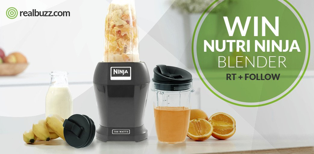 RT and Follow and you could #win a Nutri Ninja blender this June in our #competition #giveaway  #realbuzzNinja #fitness<br>http://pic.twitter.com/ConHEv2Dto