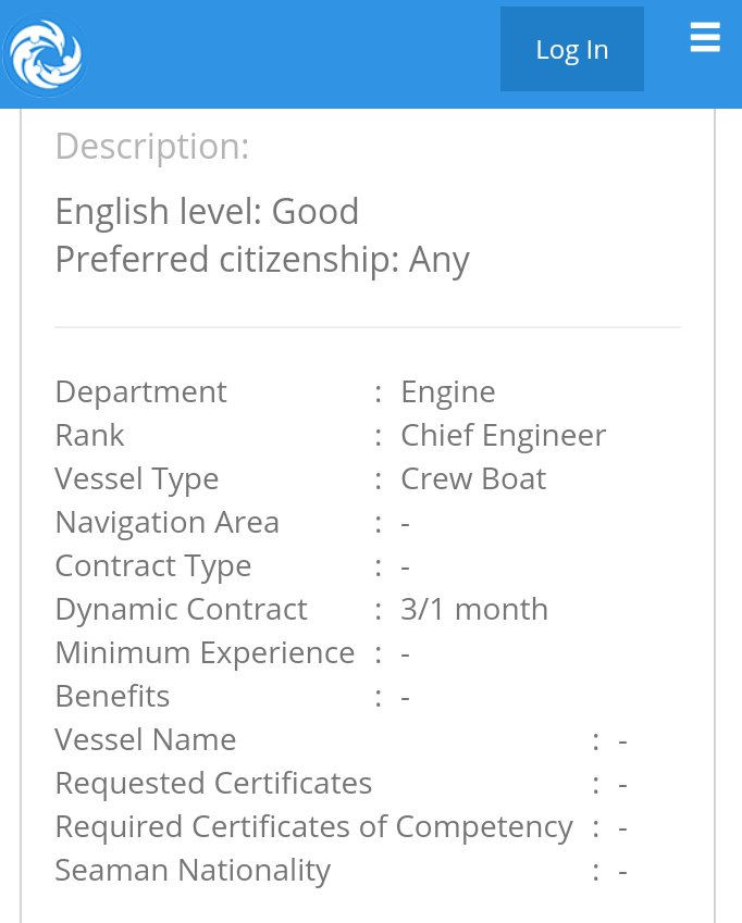 NEED FAST crew #engine #chief #engineer on #crew #boat CLICK APPLY at  http:// buff.ly/2tNgNKX  &nbsp;   #seafarer #pelaut #lowongan #vacancy<br>http://pic.twitter.com/1rnhwcOZ3n
