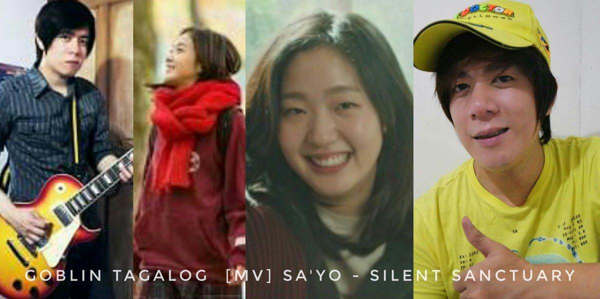 Video link  https:// youtu.be/IJ69biAnW6I  &nbsp;   #Goblin Tagalog Music Video  #Sayo #Silentsanctuary #GoblinBirthMark  #YouTube  #KimGoEun  #GongYoo #OPM<br>http://pic.twitter.com/tQtAhK9MNO