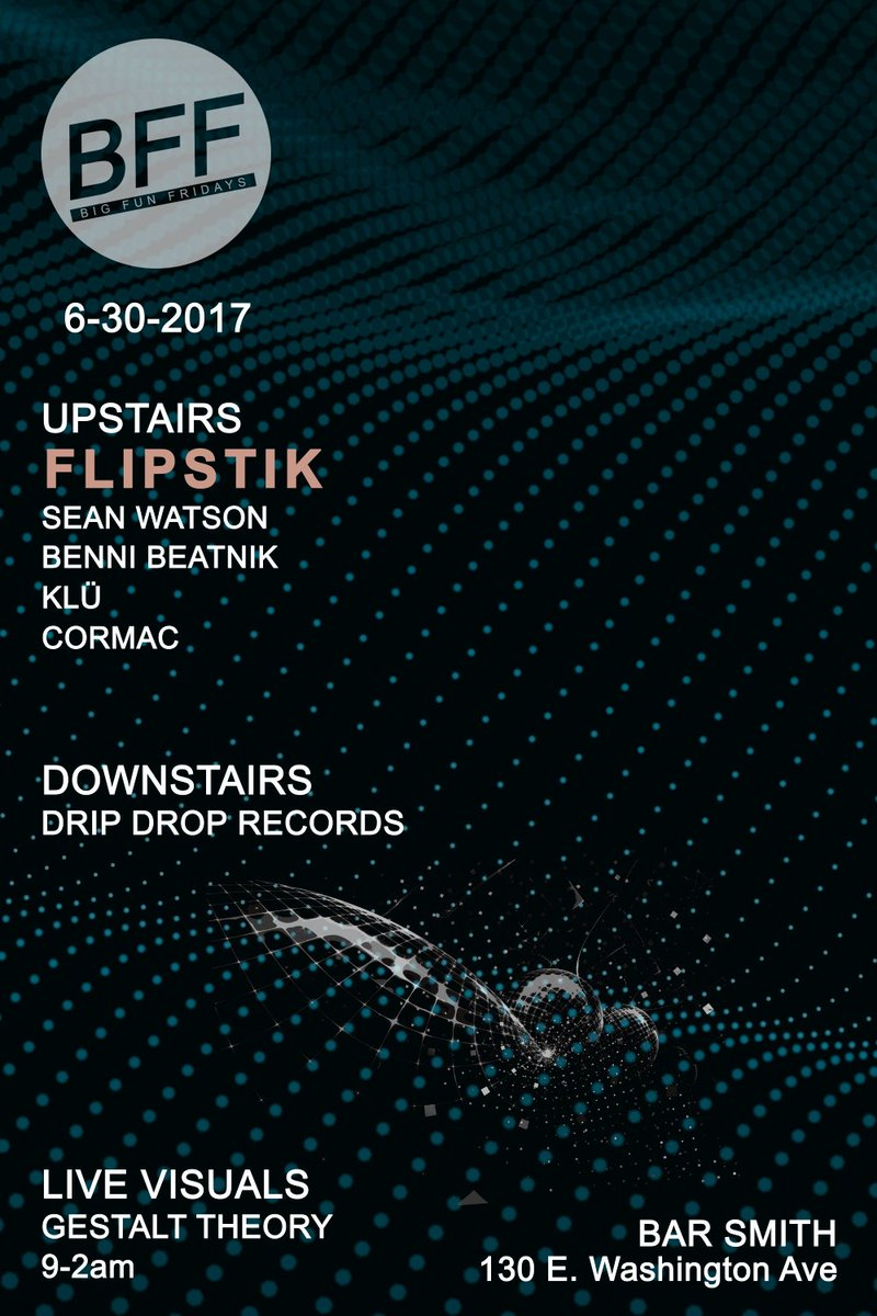 This FRIDAY @FlipstiK124 will be visiting from LA for some very special #Techno  We hear there might be some action with @its_LicK at #BFF <br>http://pic.twitter.com/SB0imWgJ2u
