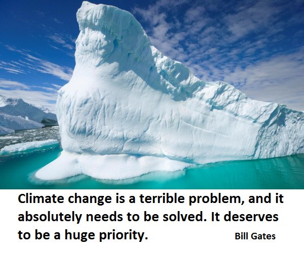 #ClimateChange is a terrible problem. It absolutely needs to be solved. It deserves to be a huge priority. #ActOnClimate #KeepItInTheGround<br>http://pic.twitter.com/k3Gs3ipOg1