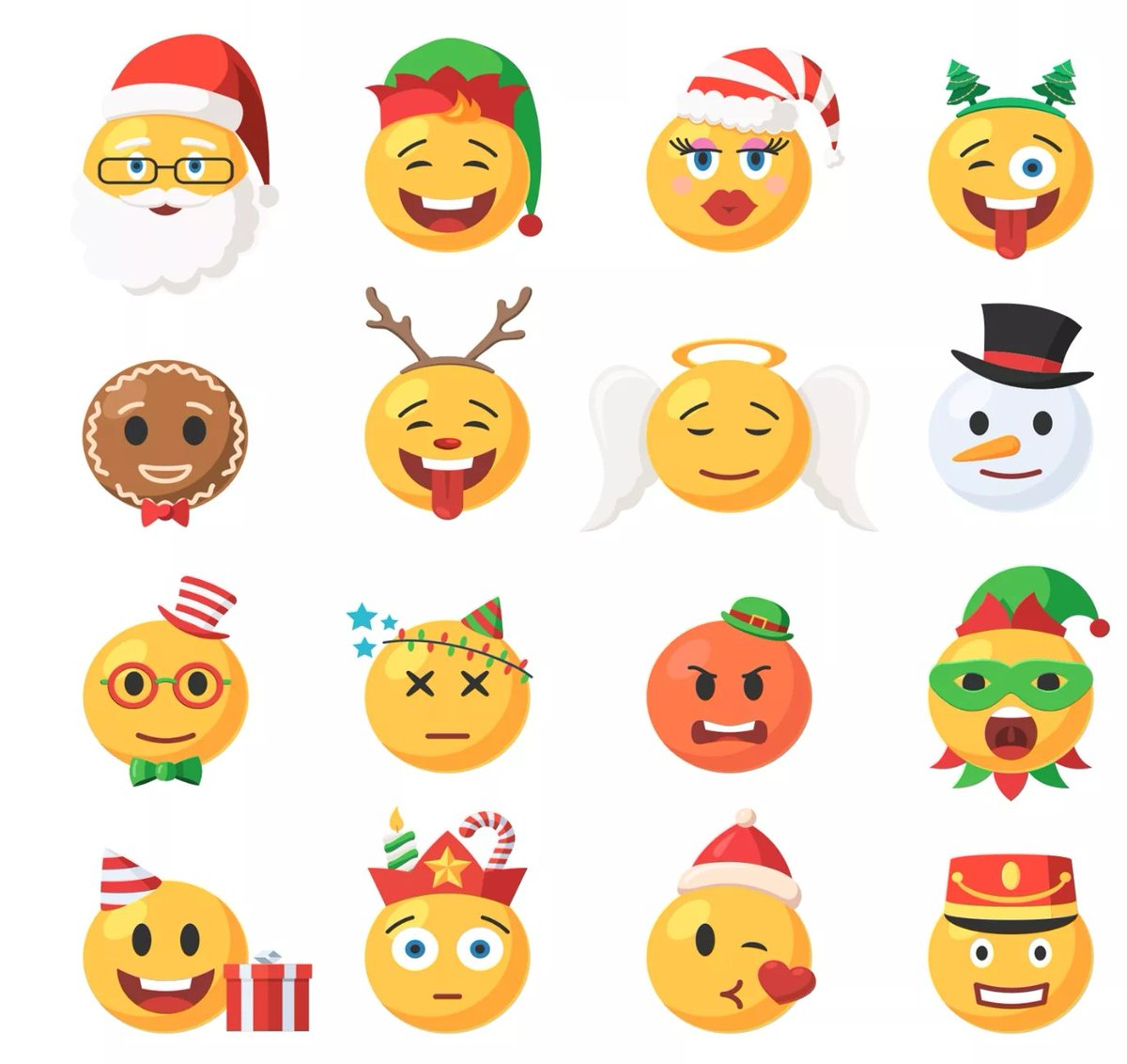 Look at these #NEW #CHRISTMAS #EMOJIS COMING THIS #FESTIVE SEASON   #RT SPREAD THE FABULOUS #NEWS   ONLY 180 DAYS TILL THE BIG DAY  <br>http://pic.twitter.com/rBBdJ1axOz