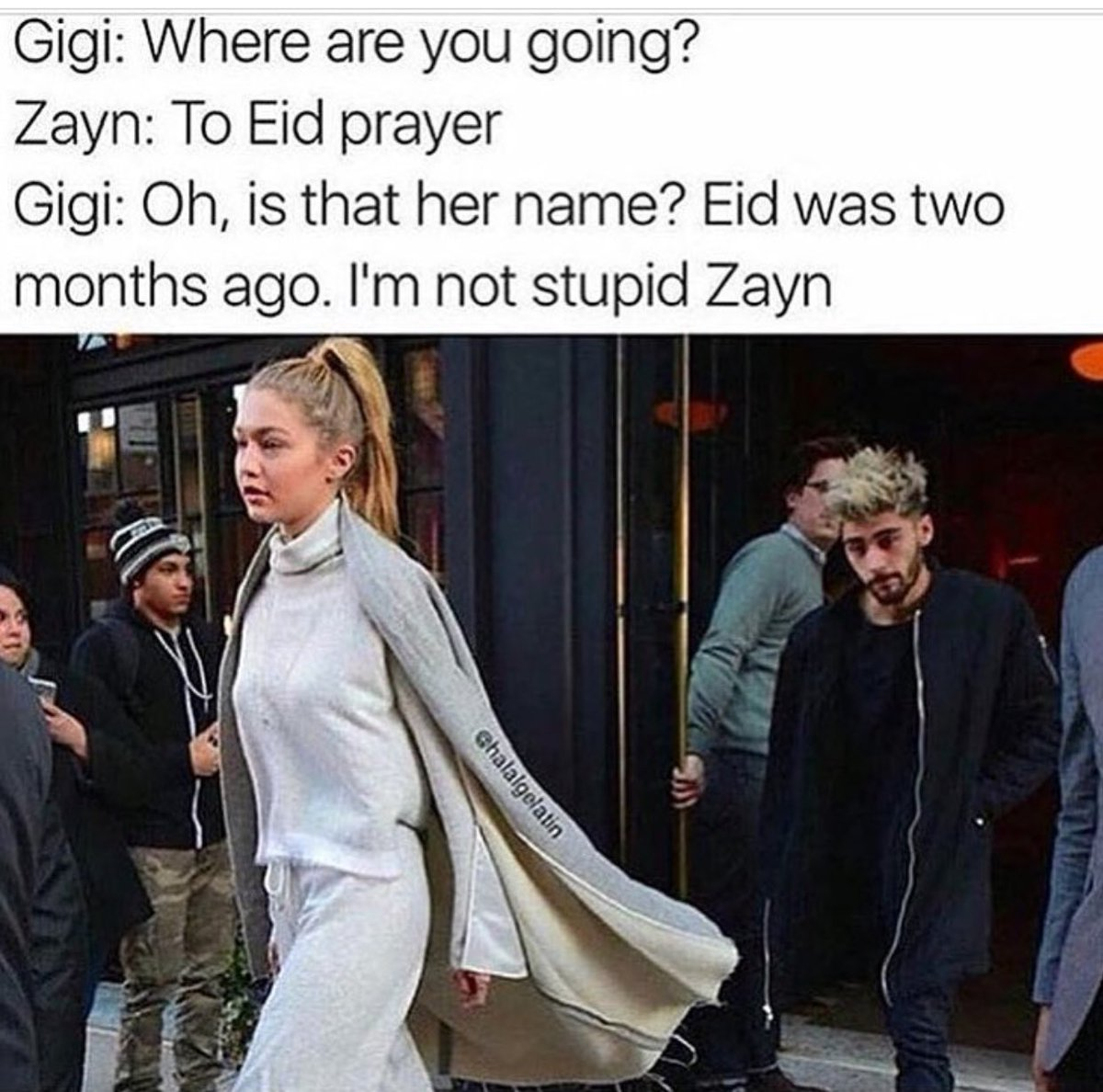 This is funny #OneDirection #ZaynMalik #GigiHadid<br>http://pic.twitter.com/Ro7cUiI6Cn