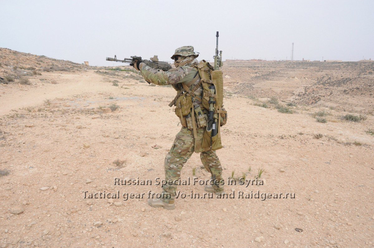 New pictures of #Russian #Spetsnaz (Special Forces) in #Syria. <br>http://pic.twitter.com/knNAWOLVXS