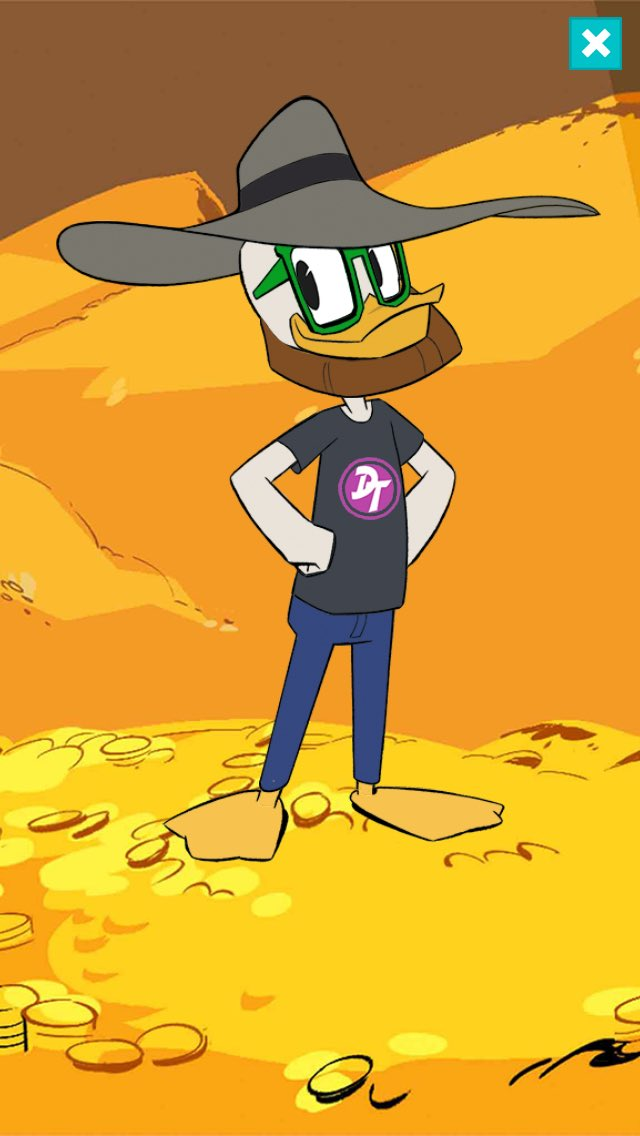 Built my Duck-sona on the @DisneyXD app&#39;s #AllDuckedOut game. His physique is off but his wardrobe is startlingly accurate. #DuckTales <br>http://pic.twitter.com/x0Sz2xmD0D