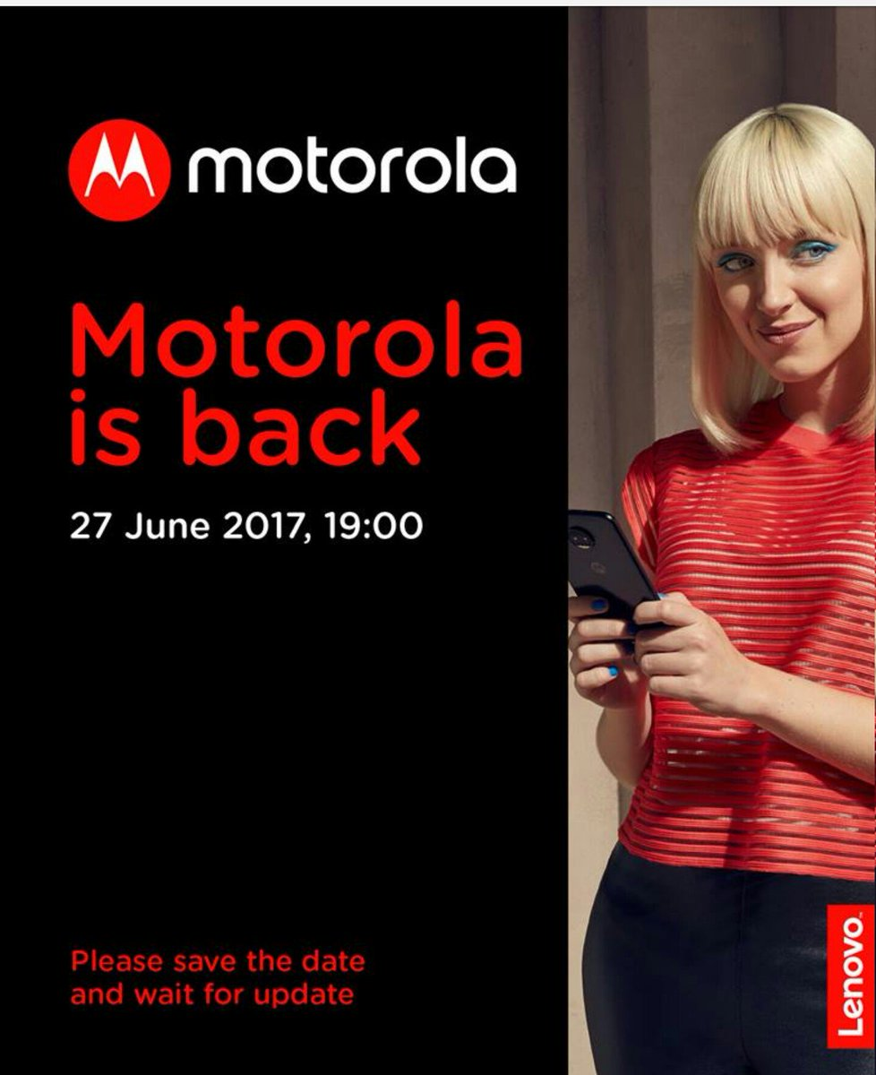 New Motorola Coming is it next Generation Moto X? Or new Moto Z Let&#39;s wait and see.. #HelloMoto #SRA <br>http://pic.twitter.com/63ew6DTEP1