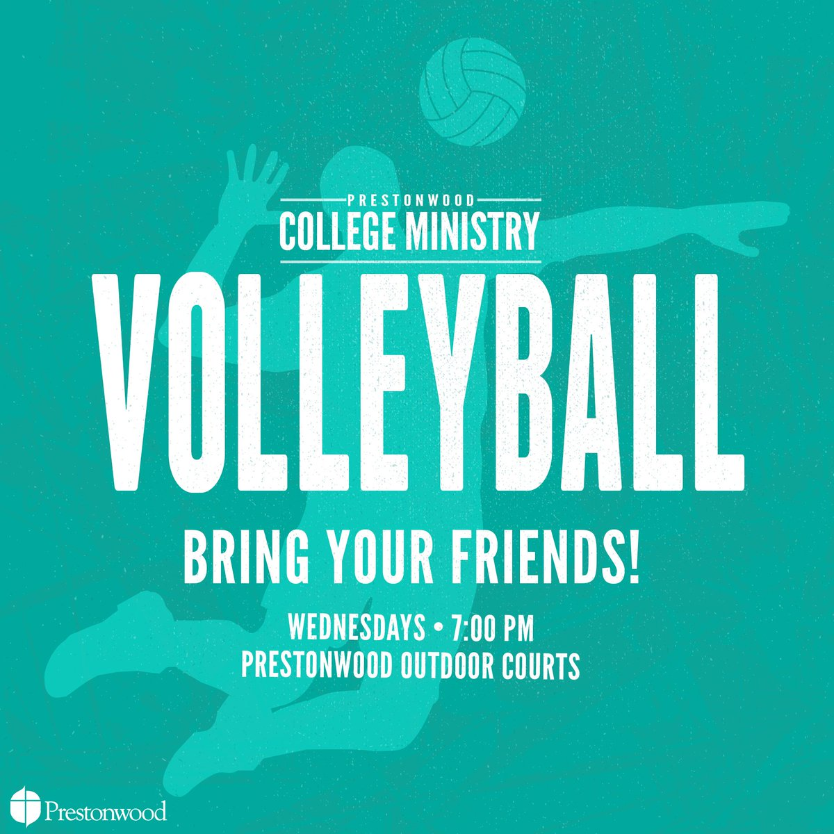 Back at it with the white sand! Join us for a devo and sand volleyball tomorrow night!! 🏐
