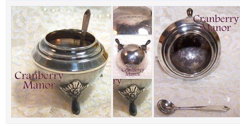 Art #Nouveau #Sterling Silver Open Salt &amp; Spoon #Vintage 1930s #Depression Era #Gift #ArtNouveau #SterlingSilver   http:// cranberry-manor.com/art-nouveau-st erling-silver-open-salt-spoon-vintage-1930s-depression-era-gift/ &nbsp; … <br>http://pic.twitter.com/hpgCYm4pOE