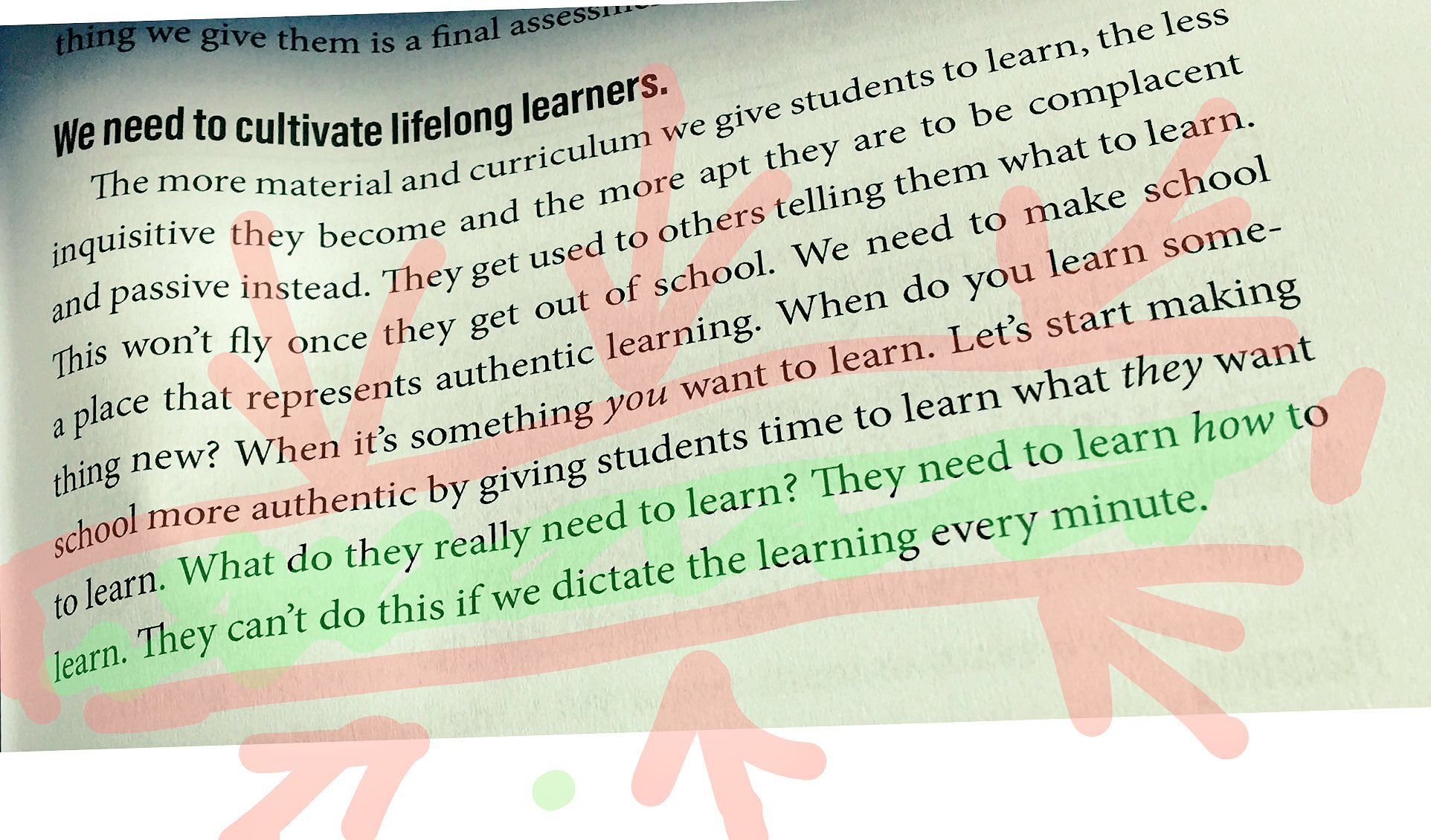 This is going to be my 2017-2018 mantra! #ShiftThis Thank you @JoyKirr https://t.co/LoiwH2VIzJ