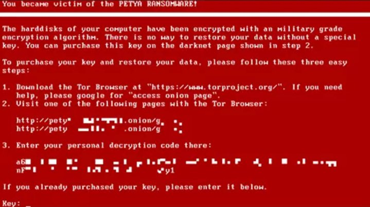 A new ransomware attack, #Petya, is sweeping across the world https://...