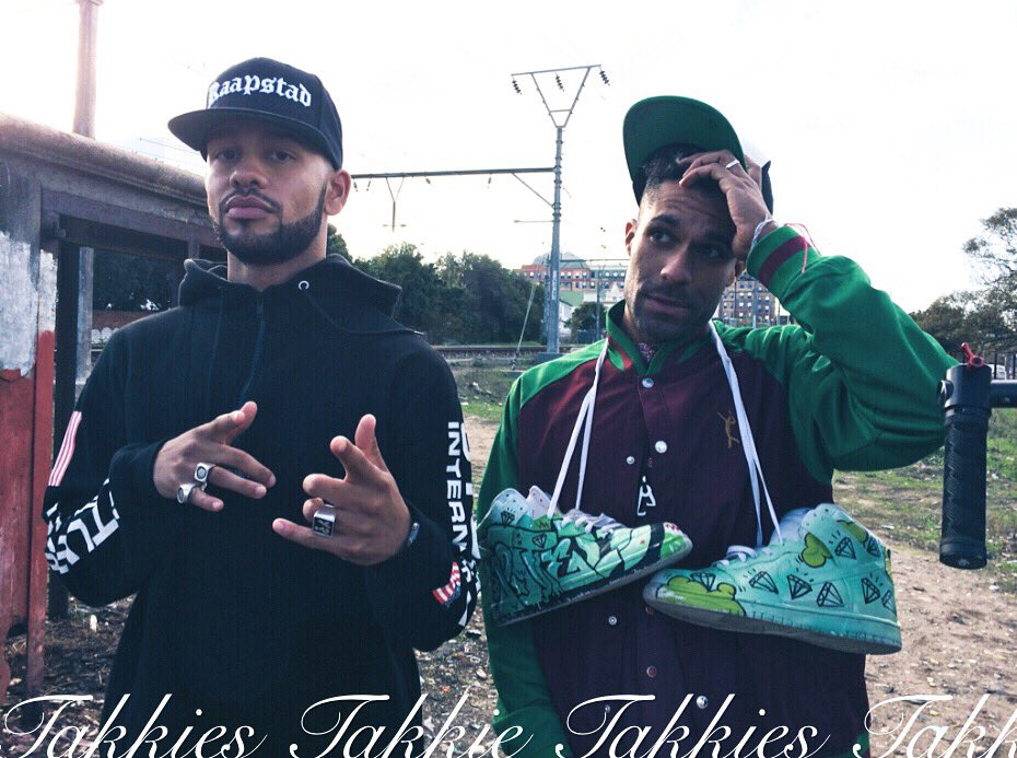 We go back, UNEW.  Location: wynberg.  @YoungstaCpt &quot;Takkies&quot; video.  @motelseven paint job.  #sneakers #customshoes<br>http://pic.twitter.com/JgSpR29JFv
