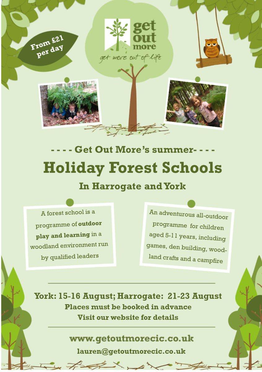 Pls RT@Woodthorpe_York @WfieldPrimary @CarrJuniorYork : 5-11 yr olds might enjoy @getoutmorecic #AcombWood holiday #forestschool this Aug <br>http://pic.twitter.com/c1BYo9xaKi