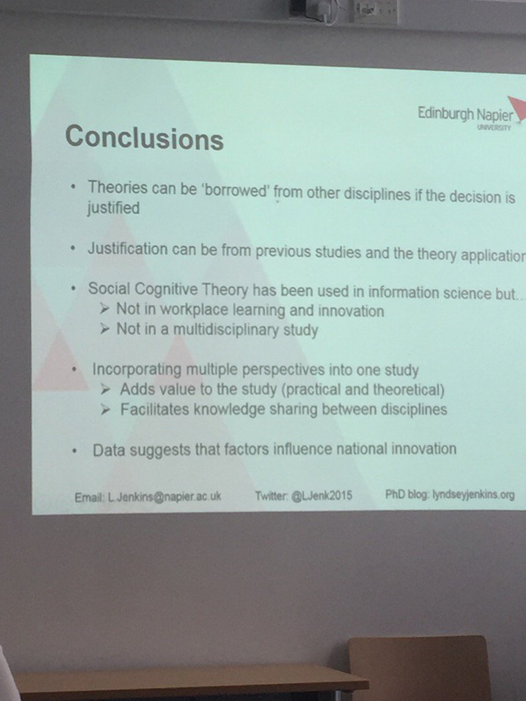 .@LJenk2015 shares the conclusions of her paper #i3rgu https://t.co/9zunSZgVci