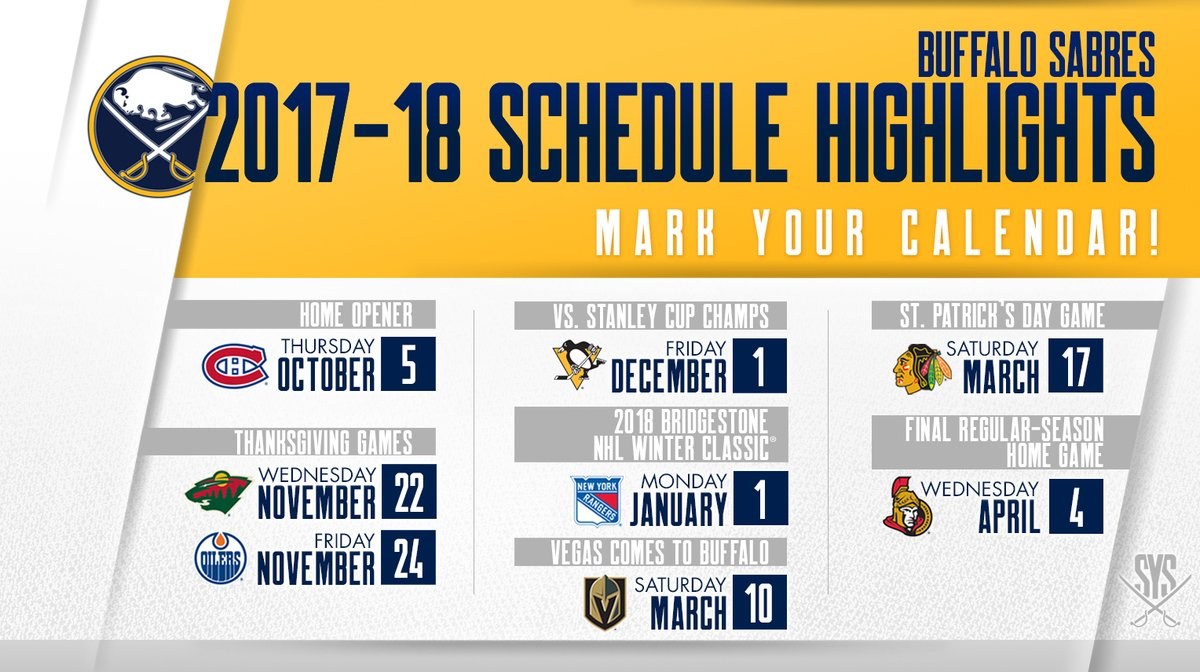 #IsItOctoberYet?  🗓️ Our 2017-18 schedule: https://t.co/V2M03ah0rI ♻️...
