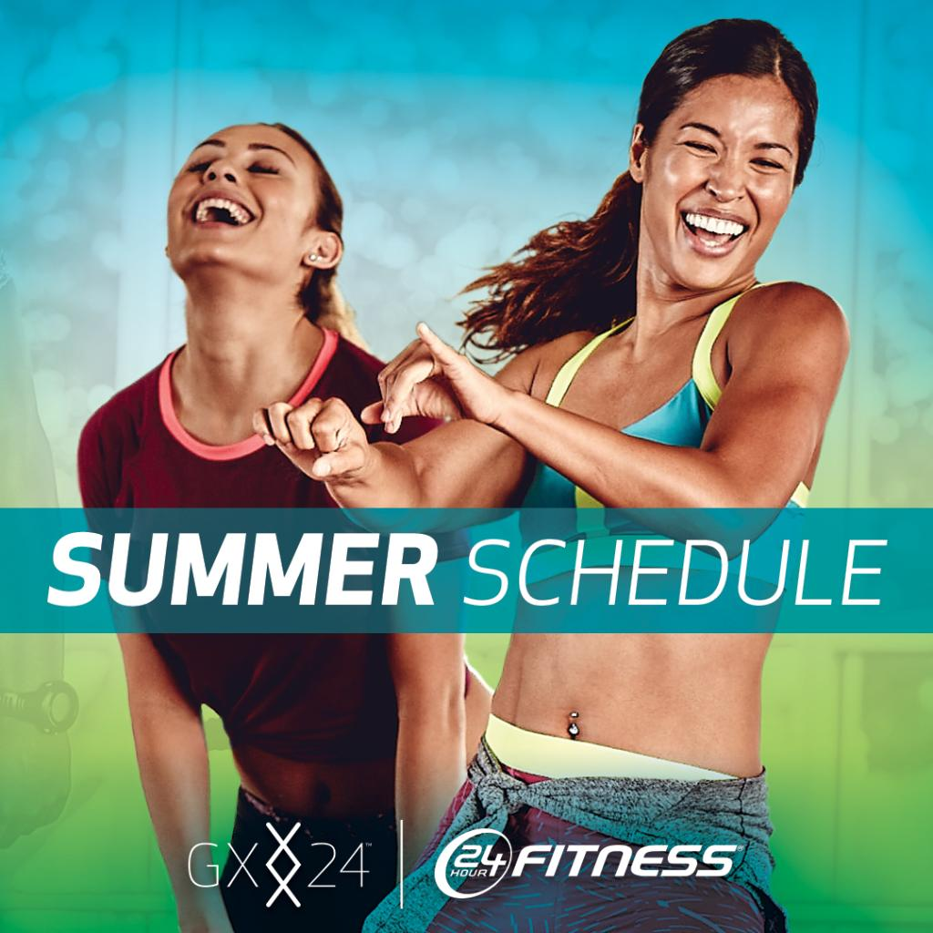 Hot classes. Cool schedule. Check our new summer lineup for #GX24 starting July 1: https://t.co/2xks4KHf9n https://t.co/vCQrsfAWIY
