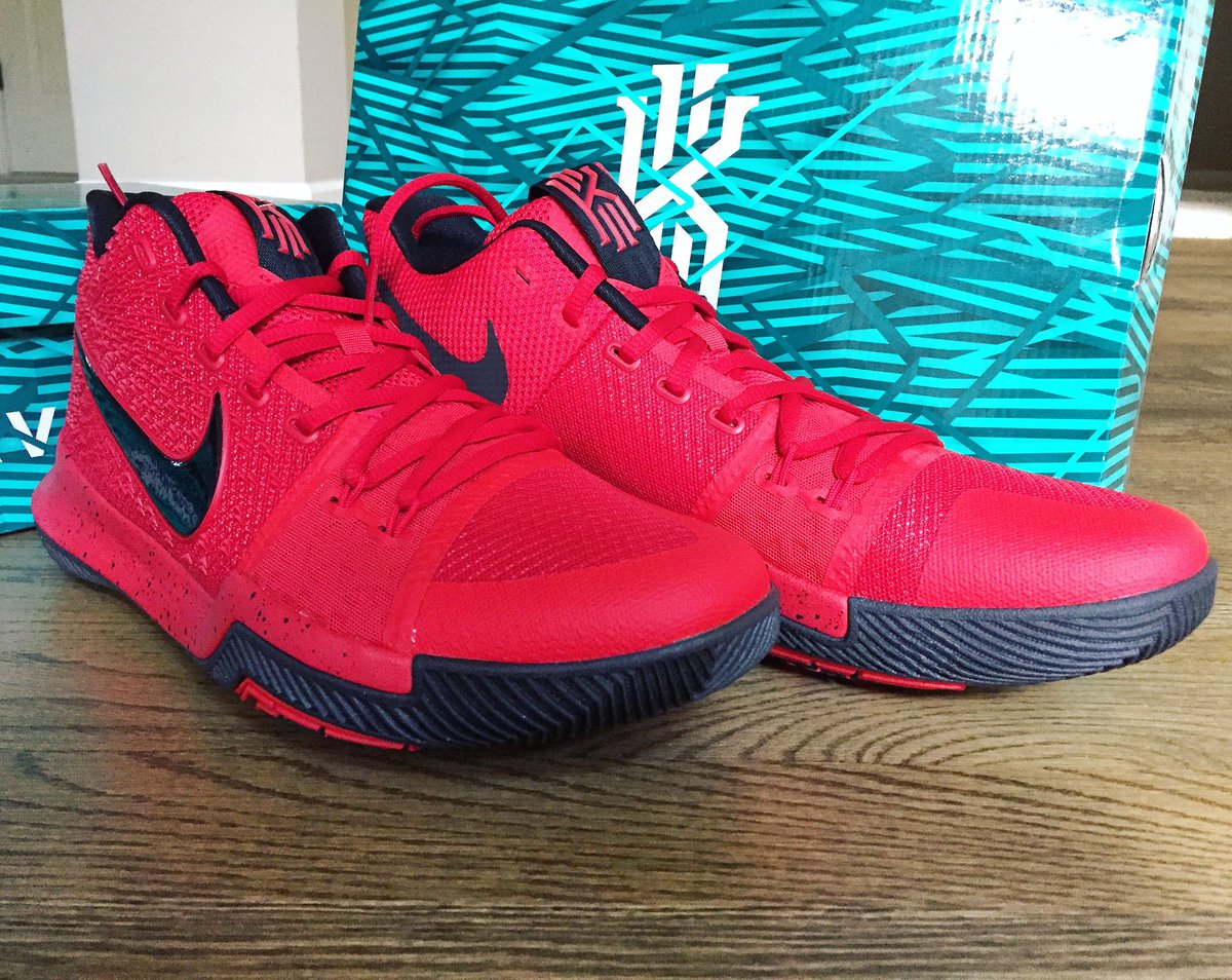kyrie 3 red apple
