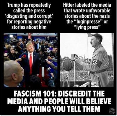 #InnocentPhrasesThatScareMe .@POTUS on #Twitter  calling out #FakeNews  #ThisIsNotNormal #Authoritarian gov= #MAGA<br>http://pic.twitter.com/NAZdTch30G