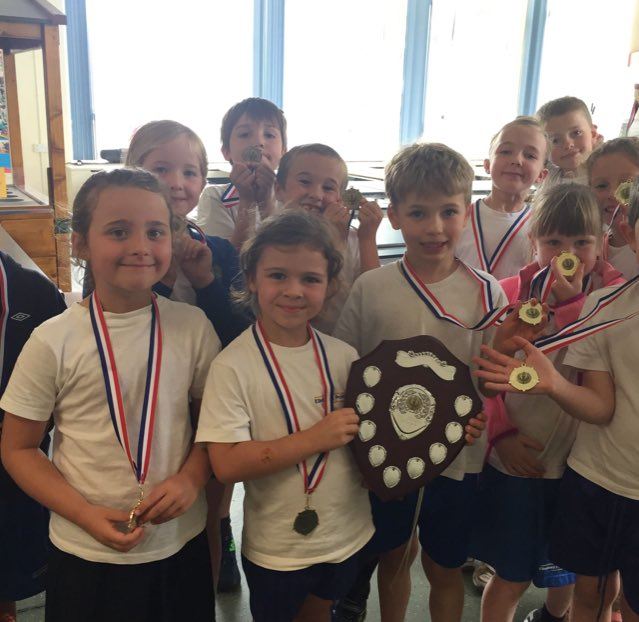Well done to our amazing key stage 1 athletics team, incredibly proud of you all! #inspire #sport #keystage1 #ellesmereprimary #athletics