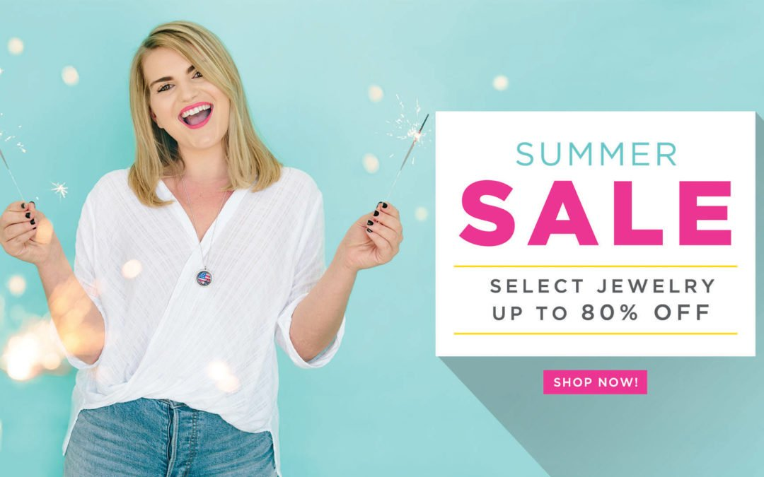 """Origami Owl® on Twitter: """"SUMMER SALE! Enjoy up to 80% off ..."""