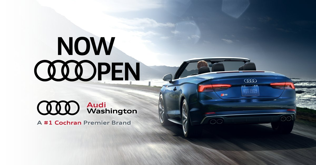 Cochran On Twitter Cochran Has Opened Audi Were Thrilled - South hills audi