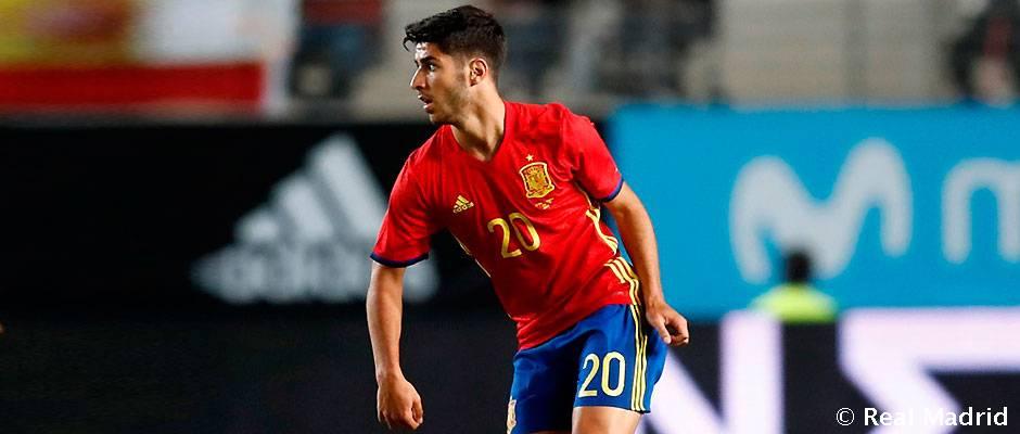 🇪🇸 🆚 🇮🇹 #U21EURO @marcoasensio10 estará en la final del Europeo sub-21...