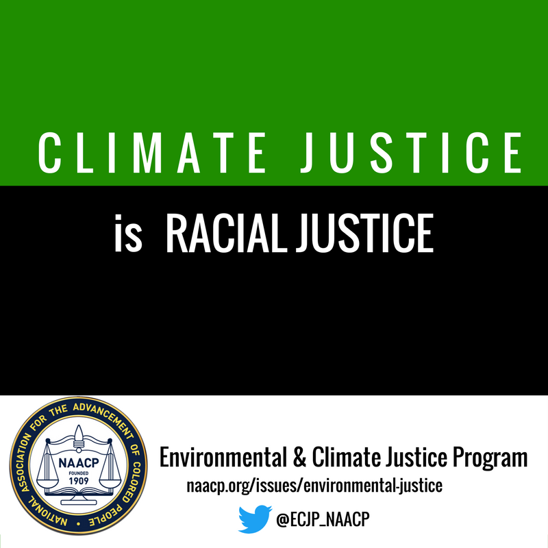 .@NAACP&#39;s #Environmental and #Climate #Justice Program works to improve the impact of #ClimateChange on #AfricanAmerican communities. #ECJ<br>http://pic.twitter.com/w8PRU1kbEr