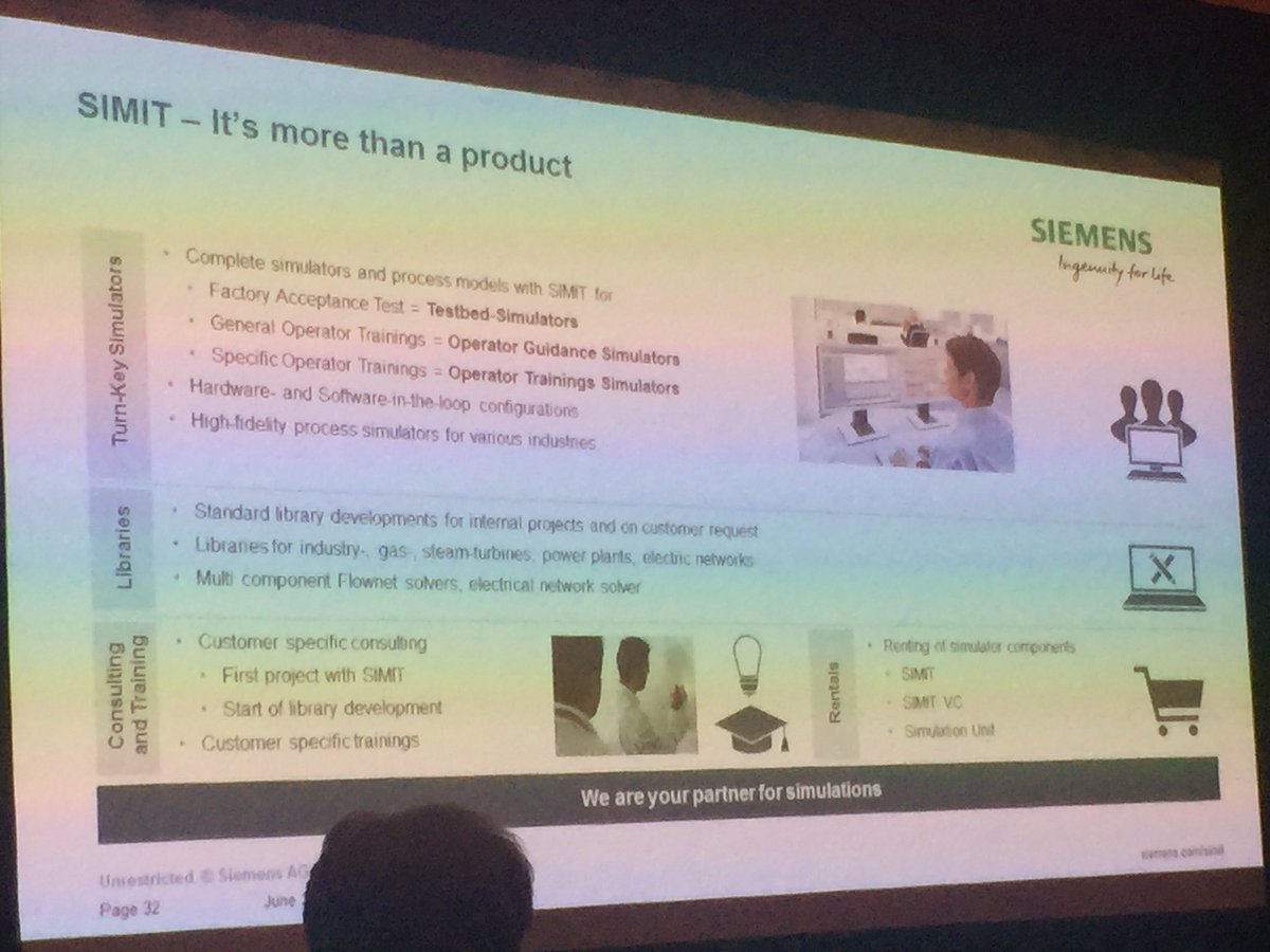Craig Resnick On Twitter Simit Scalable Simulation Virtual Learning Much More Electronics Since We Began Using Circuit Commisioning Operator Training Engineering Controlsystem Siemens Automationsummit