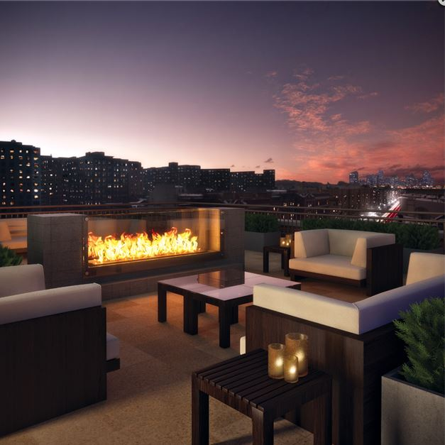 The best way to extend use of a #clubhouse #patio &amp; #dining area through spring &amp; fall is to add a warming element. #interiordesign #design<br>http://pic.twitter.com/OrJHbGosH6